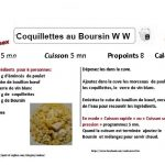 COQULLETTES BOURSIN WEIGHT WATCHERS