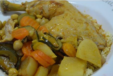Couscous weight watchers au cookeo