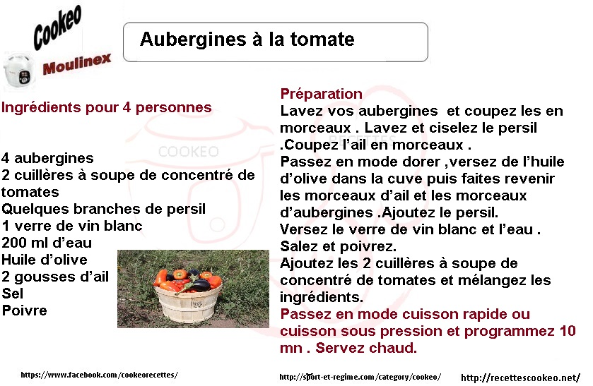 augergines tomates fiches