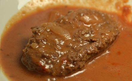 Fiche cookeo steaks hachés vin rouge