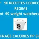90 recettes minceur cookeo
