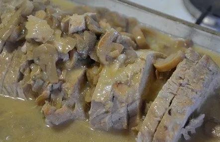 Longe de porc moutarde au cookeo