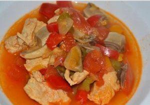 Escalope poulet basquaise recette cookeo