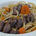 spaghettis bourguignonnes cookeo