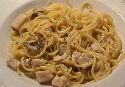 Spaghettis poulet citron une recette cookeo