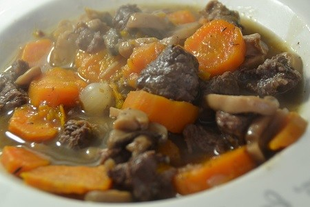 Boeuf bourguignon weight watchers recette cookeo