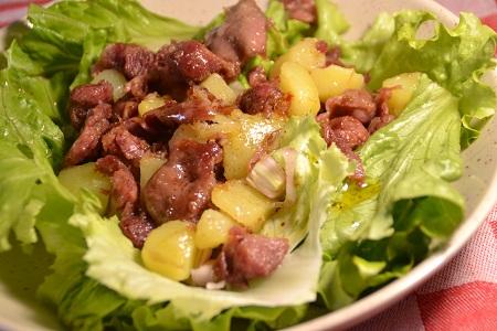 Salade gésiers recette cookeo