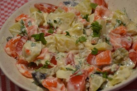 Salade pommes de terre maison recette cookeo