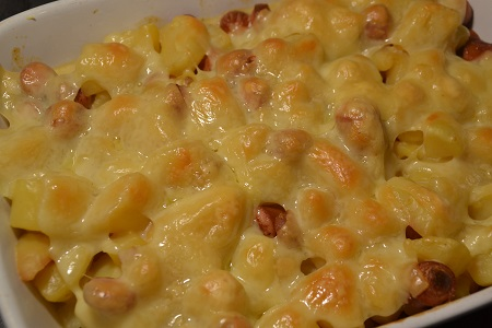 Pommes de terre knackis emmental cookeo