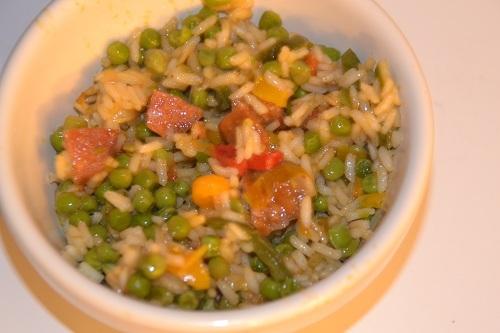 Riz à l'espagnole recette cookeo