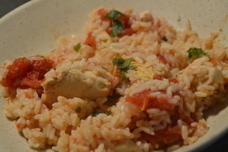 One pot riz poulet tomates cookeo