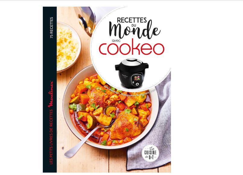 """Nouveau livre : """"Recettes du monde au cookeo"""""""