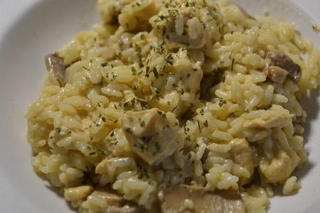 Riz poulet crème fraîche cookeo