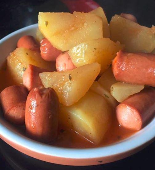 Pommes de terre knackis recette cookeo