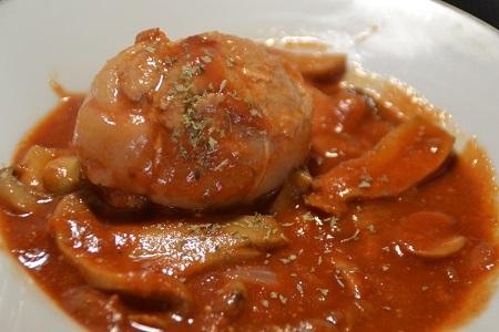 Paupiettes poulet tomates au cookeo