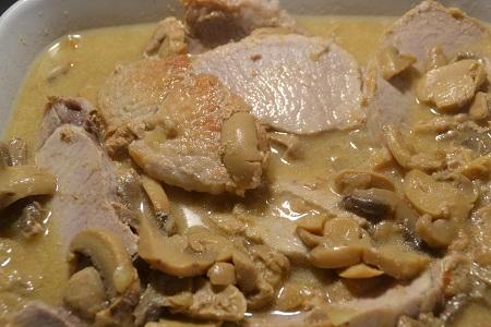 Rôti de porc au lait recette cookeo