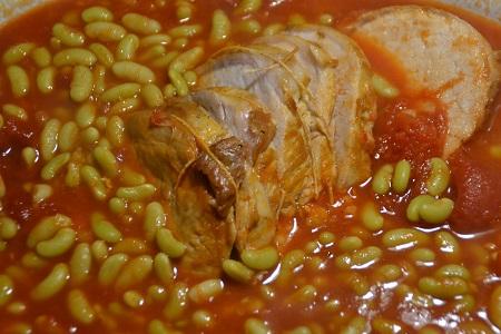 Rôti de porc flageolets recette cookeo