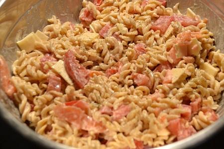 Fusillis saumon recette cookeo