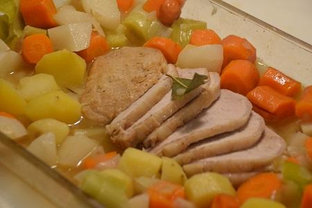 Potée légumes rôti de porc au cookeo