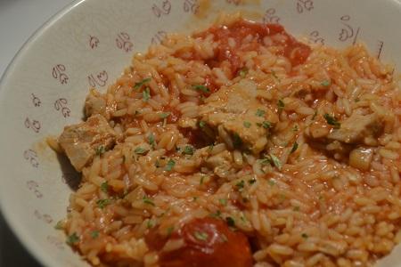 Riz thon tomates au cookeo