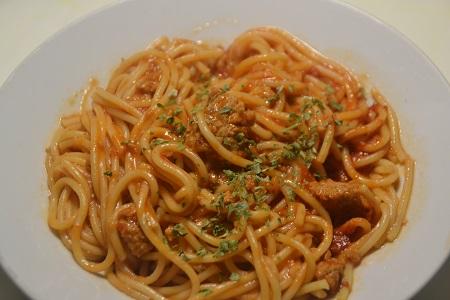 Spaghettis steaks hachés recette cookeo